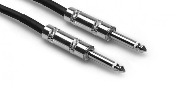 """HOSA CPP520 - PRO CABLE 1/4"""" TS - SAME 20FT"""