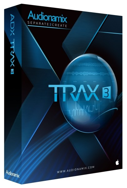 Audionamix TRAX 3 Software