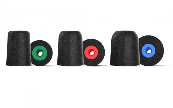 COMPLY P-Serie, schwarz, gemischte Größen